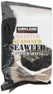 Kirkland Roasted Seaweed Snacks